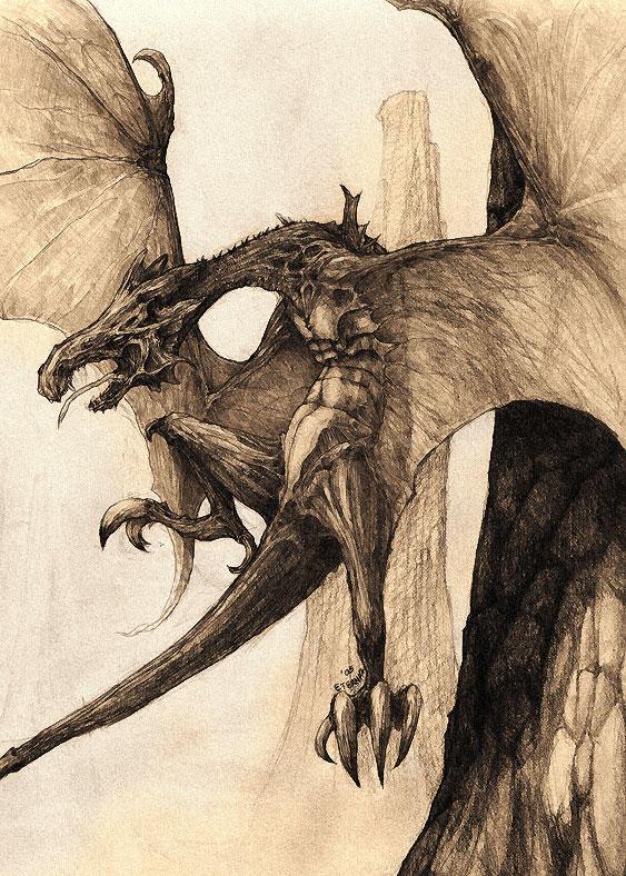Savage Legion - Wyvern by eterna2