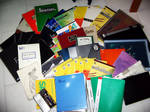 My lovely sketchbooks
