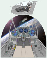 Unnamed Space Fighter Cockpit by atomik99
