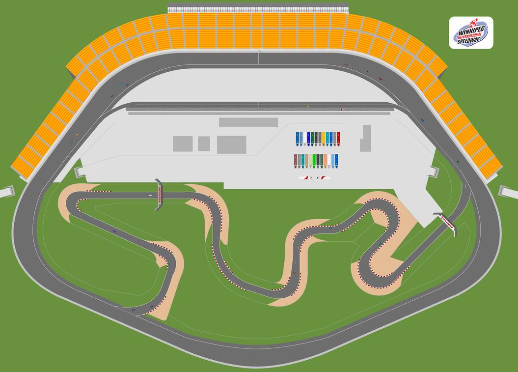 Winnipeg Car Race Track