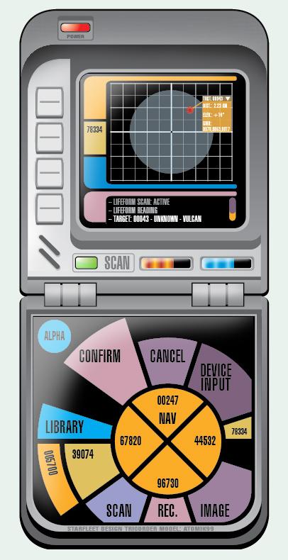 Tricorder Design by atomik99