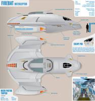 Firebat Interceptor Star Trek by atomik99