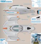 Firebat Interceptor Star Trek