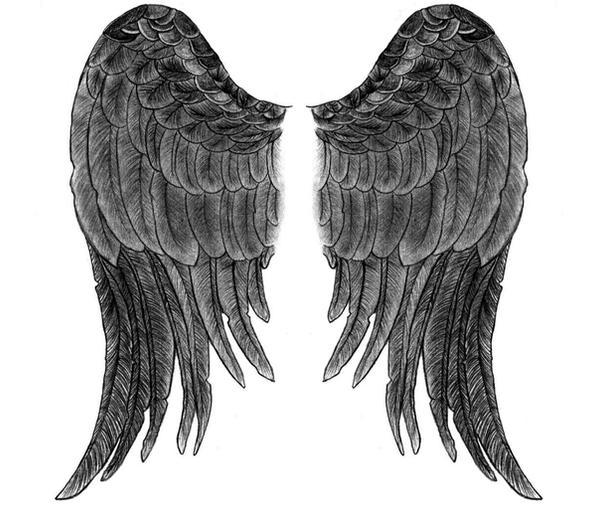 angel wing design by fightformetal on deviantart. Black Bedroom Furniture Sets. Home Design Ideas