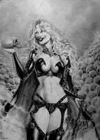 Lady Death by Eddie-Ferreira