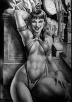 Vampirella by Eddie-Ferreira
