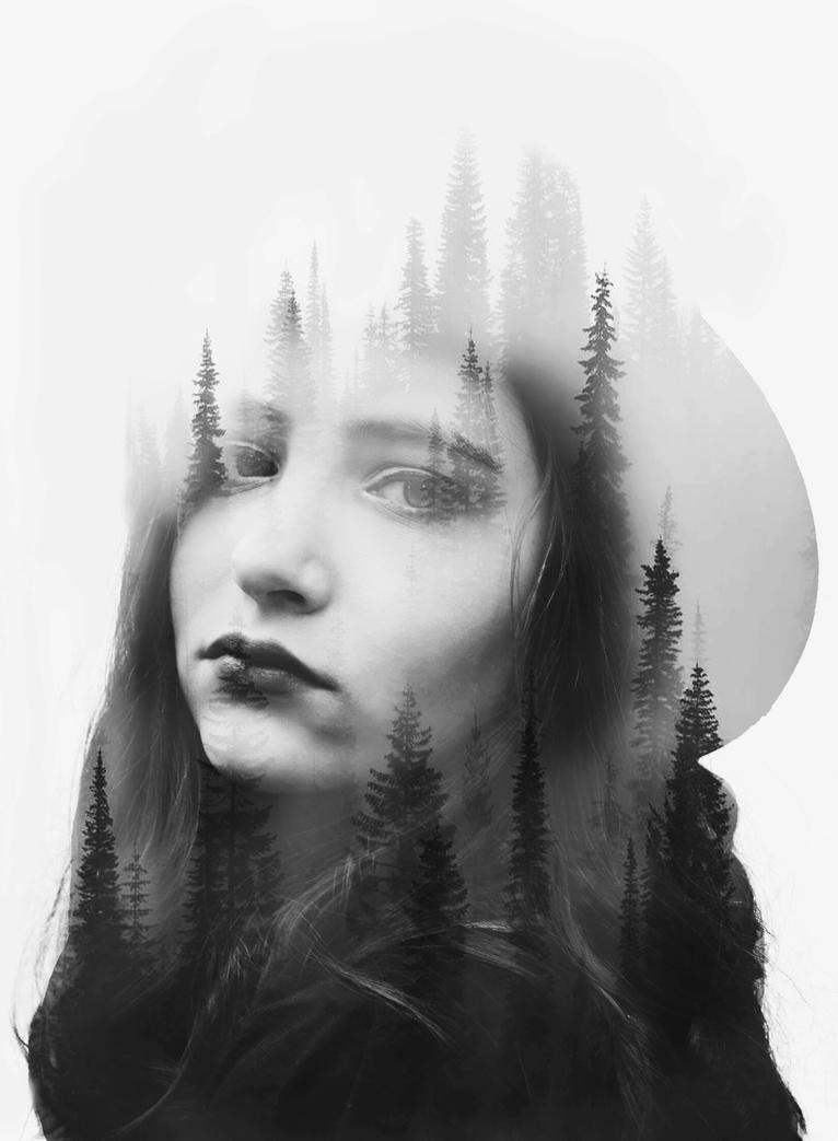 Double exposure by MajaKolarski