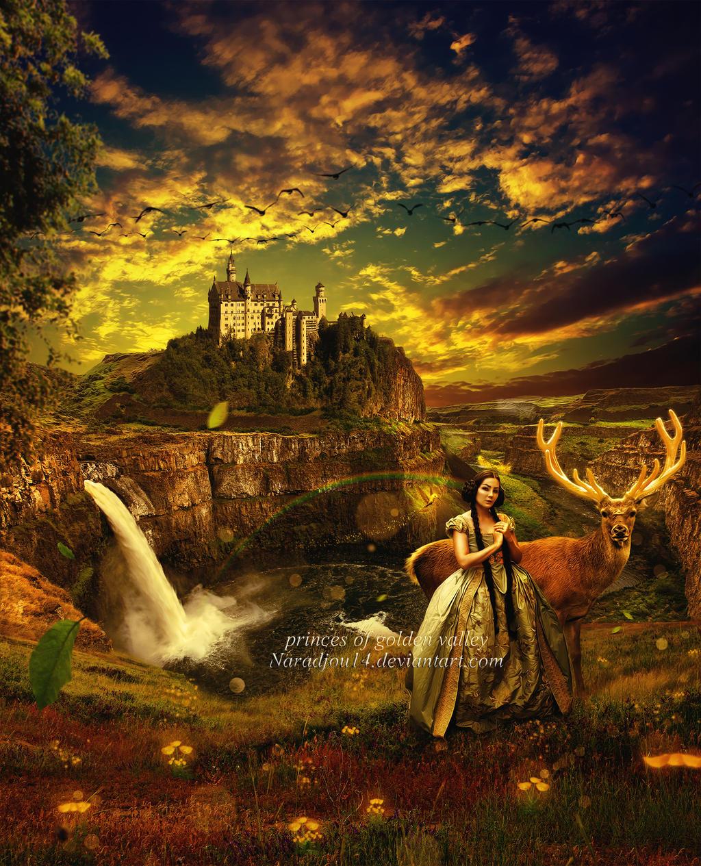 princes of golden valley by naradjou14