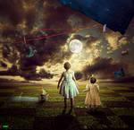she take the moon