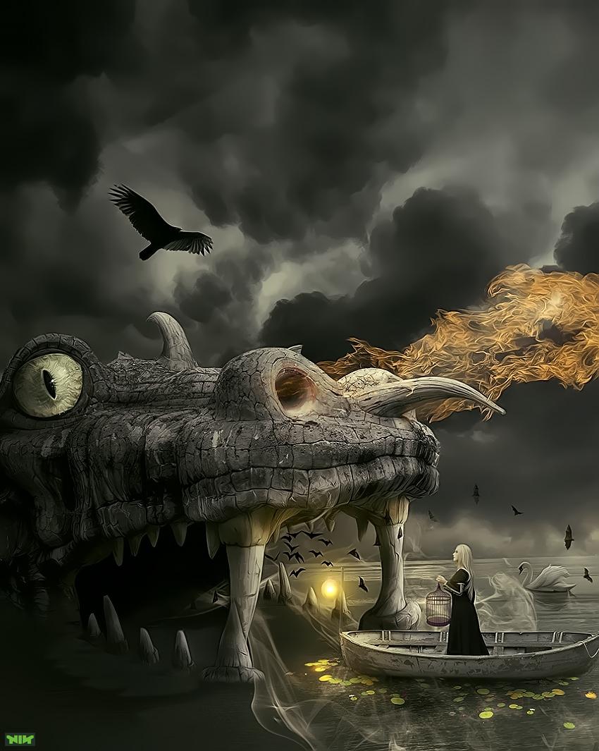 Dragons Road by naradjou14