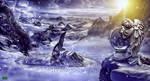 winter angel by naradjou14