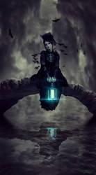 Gothic Bridge by naradjou14