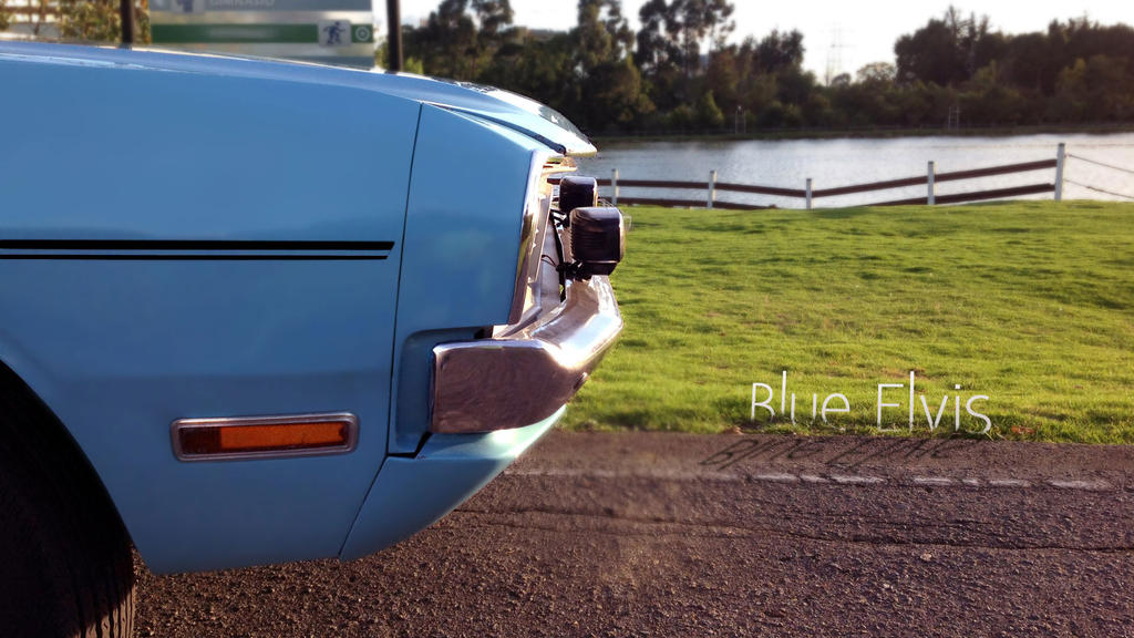 Blue Elvis (Dodge Dart) by imaGeac