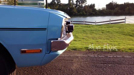 Blue Elvis (Dodge Dart)
