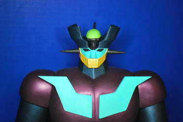 Mazinger Z (Custom Colors) view 3 by AzraelDarknut