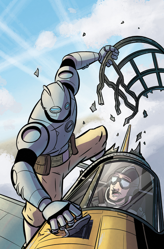 <b>atomic robo</b> vs doctor dinosaur - Digital Webbing Forums