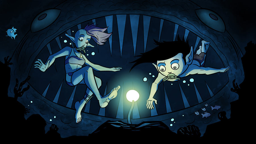 What Lurks Below by Josh-Ulrich