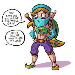T is for The Legend of Zelda: BotW by Josh-Ulrich