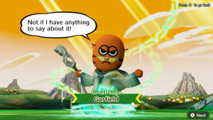 Miitopia (Switch) - Great Sage Garfield (Updated)
