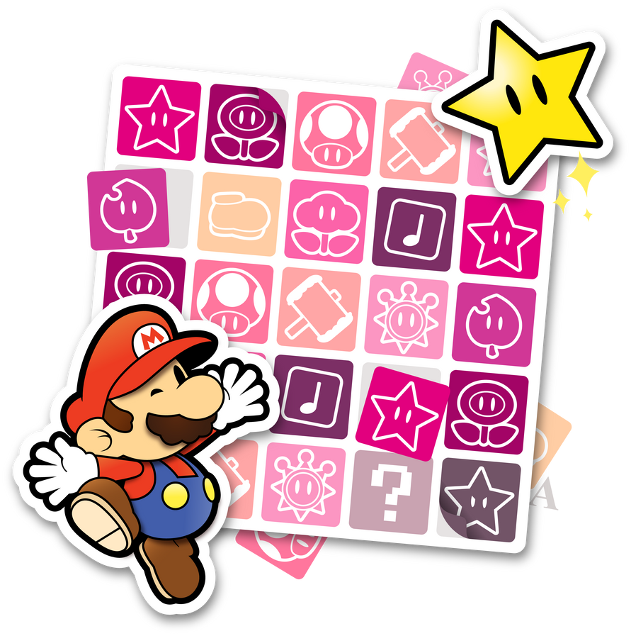 Paper Stickers by Eniotna