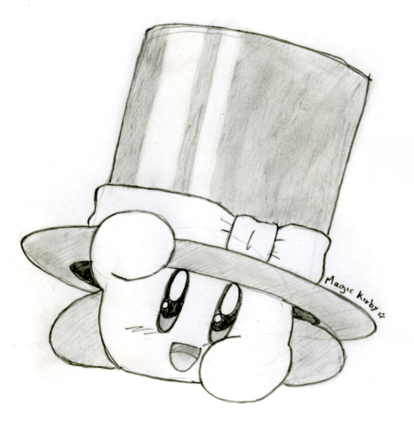 Magic Kirby by Eniotna on DeviantArt