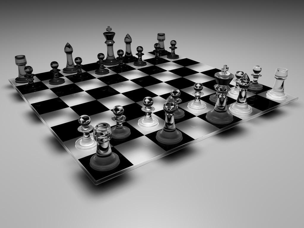 Buy Glass Chess Set