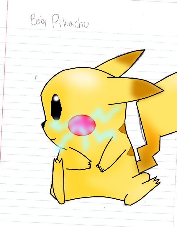 Cute baby pikachu - photo#11