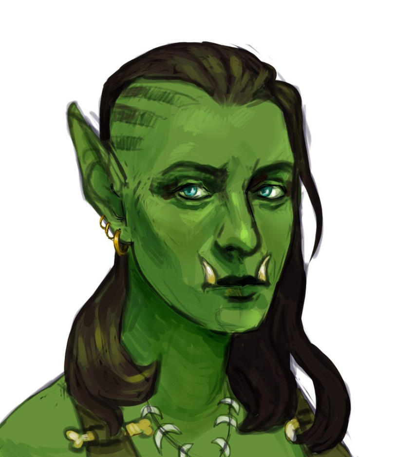 orc self-portrait by Sipr0na