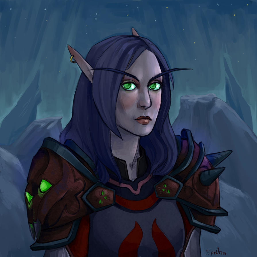 blood elf by Sipr0na