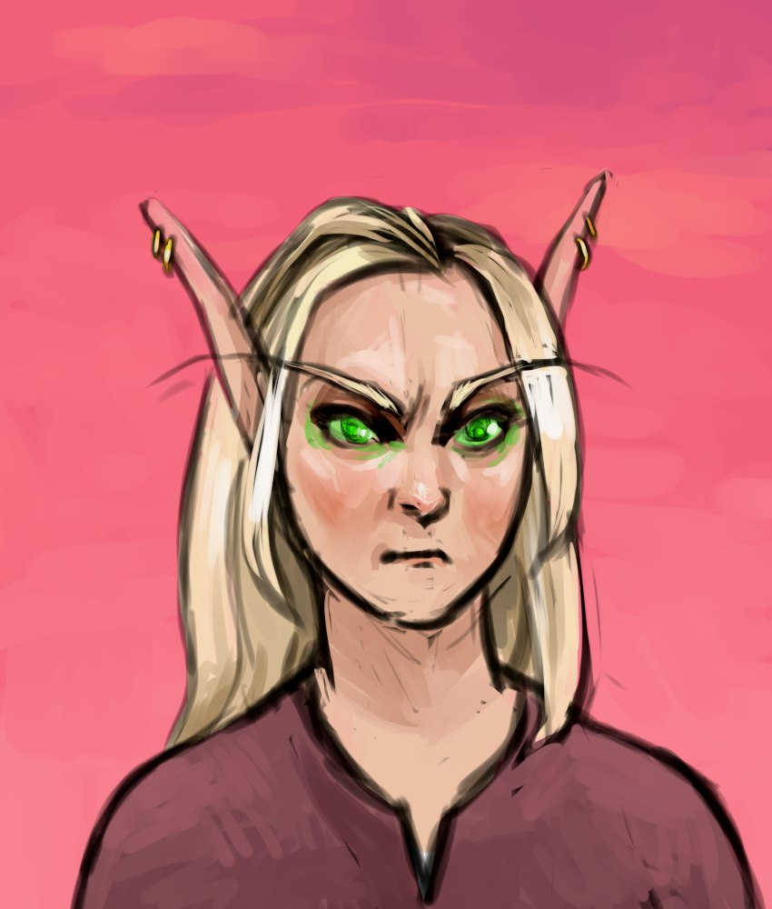 blood elf 2 by Sipr0na