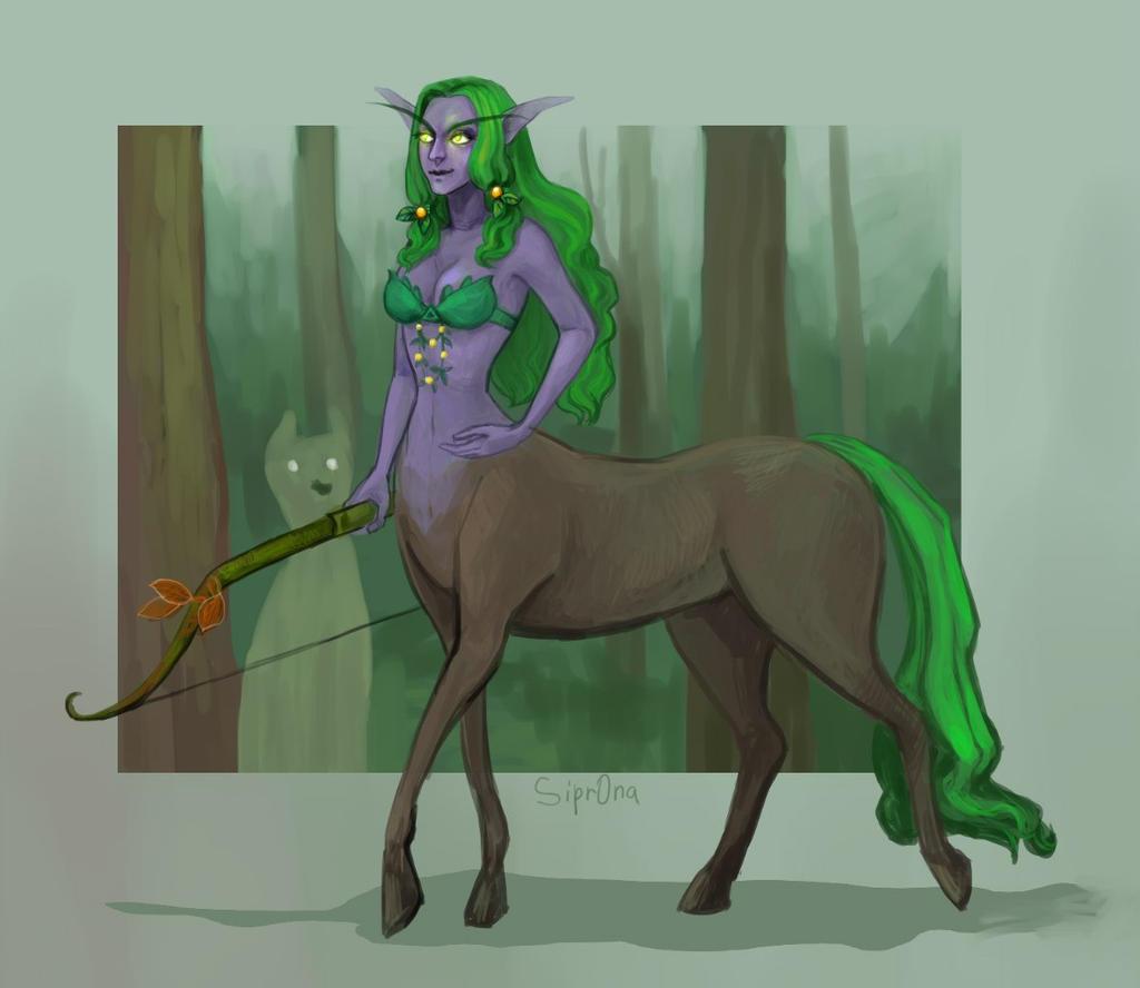 centaur by Sipr0na