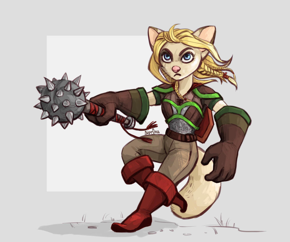 little warrior by Sipr0na