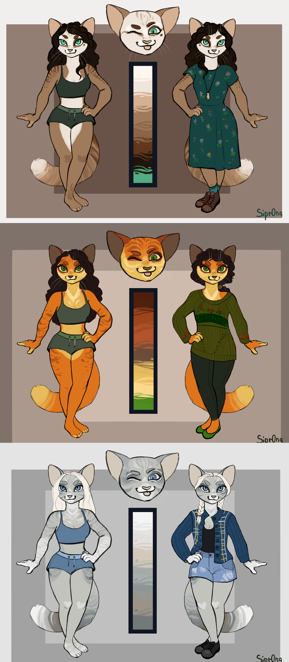 Kittens by Sipr0na