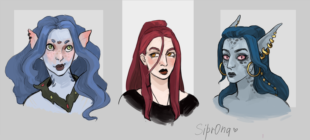 Faces by Sipr0na