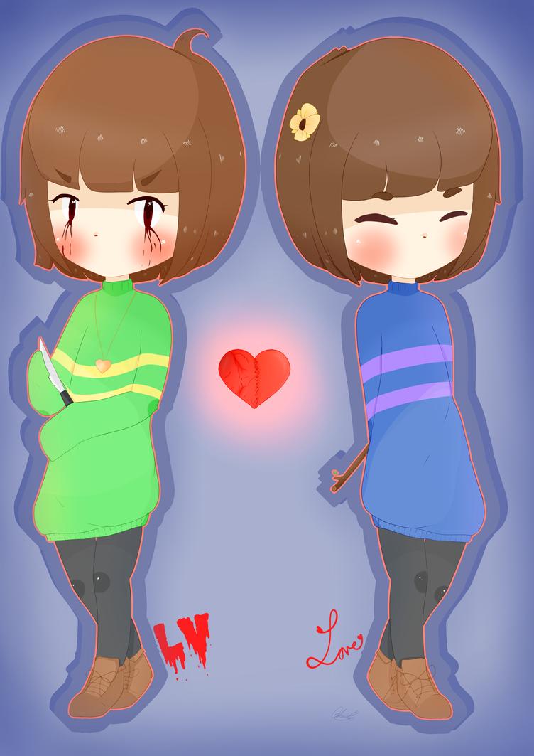 LV vs Love by bunni-chi