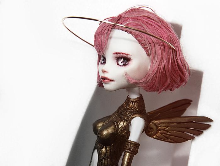 Sky Doll Noa - Monster High C.A. Cupid OOAK by ero-nel