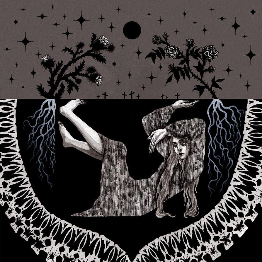 P for The Premature Burial - Edgar Poe Alphabet by ero-nel