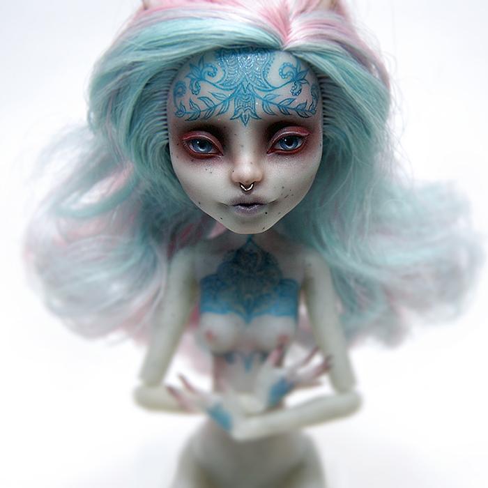 Monster High Rochelle OOAK by ero-nel