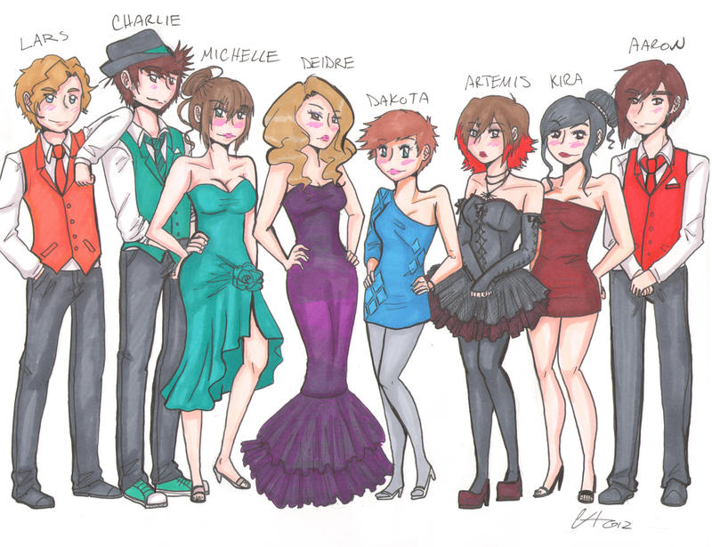 genderbended homecoming final by cheesecake narwhal traditional art