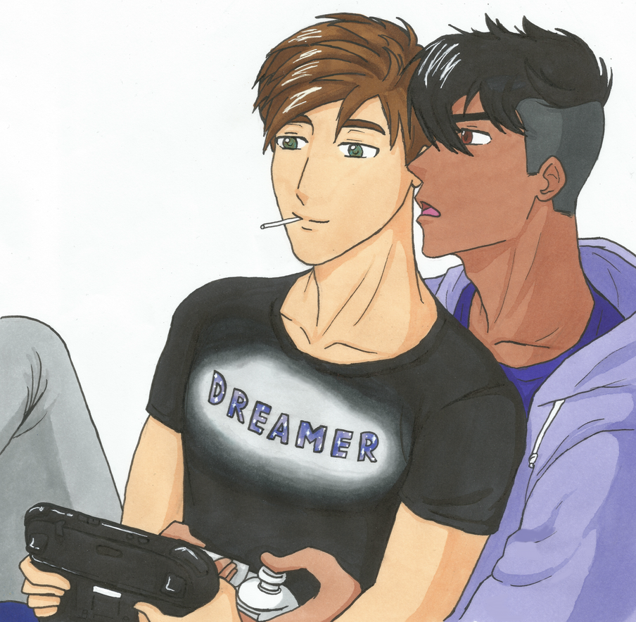 Gamers by Pon-Monster