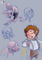 Sam and Gollum by YankovskayaJulia