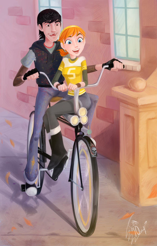 Casey Jones and April by YankovskayaJulia on DeviantArt