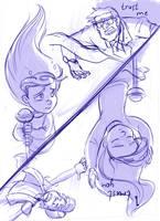gravity falls. sketch. by YankovskayaJulia
