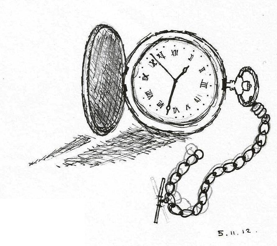 Pocket Watch by Gingerbaron on DeviantArt