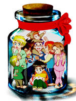 Digimon - In a Jar by onkeikun