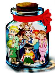 Digimon - In a Jar