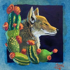 Cactus Coyote