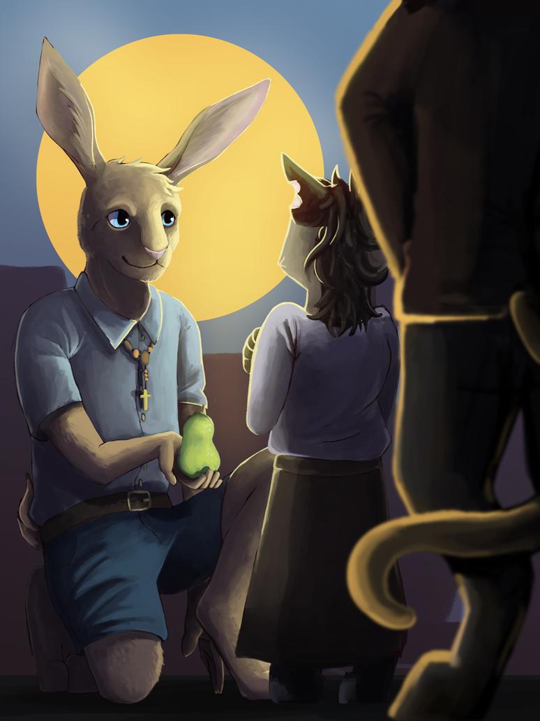 Rabbit Man by Toramelle