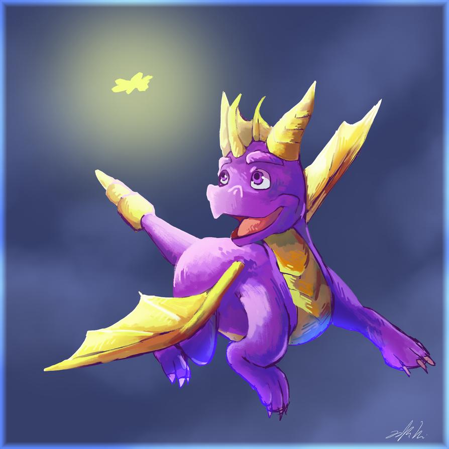 Spyro by Toramelle