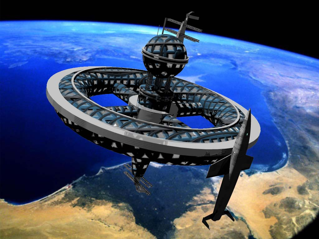 Space Station by shelbs2 on DeviantArt